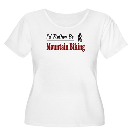 Rather Be Mountain Biking Women's Plus Size Scoop