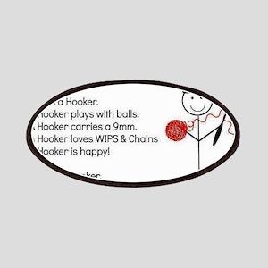 BE A HOOKER Patch