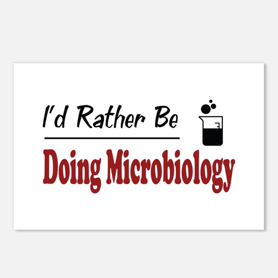 Rather Be Doing Microbiology Postcards (Package of