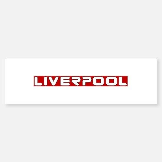 liverpoolscouserredUPPERlpf Bumper Car Car Sticker