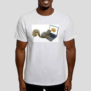 Squirrel at Computer T-Shirt