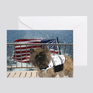 Cairn Terrier Greeting Cards (Pk of 20)