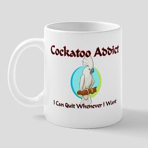 Cockatoo Addict Mug
