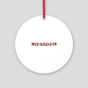 liverpoolscouserredUPPERlpf Round Ornament