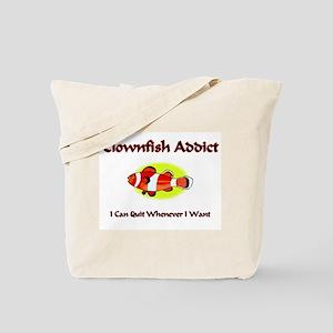 Clownfish Addict Tote Bag