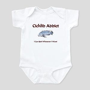 Cichlid Addict Infant Bodysuit