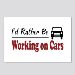 Rather Be Working on Cars Postcards (Package of 8)