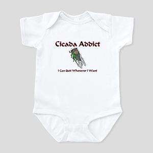 Cicada Addict Infant Bodysuit
