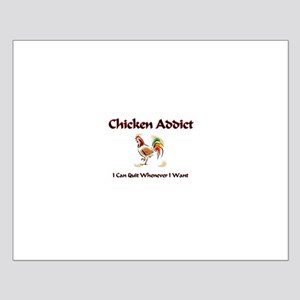 Chicken Addict Small Poster