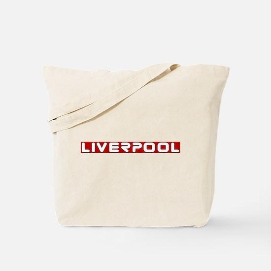 liverpoolscouserredUPPERlpf.png Tote Bag