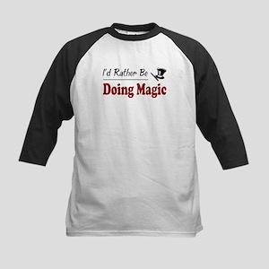 Rather Be Doing Magic Kids Baseball Jersey