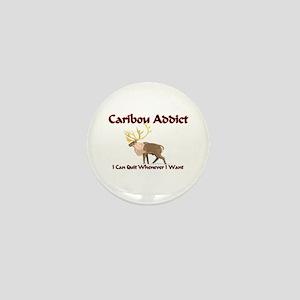 Caribou Addict Mini Button
