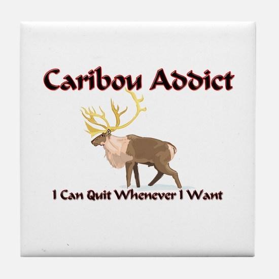Caribou Addict Tile Coaster