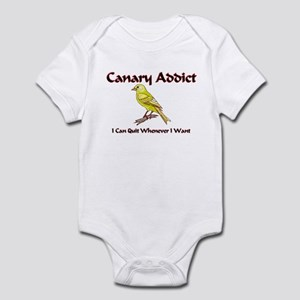 Canary Addict Infant Bodysuit