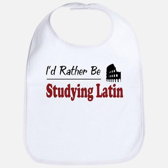 Rather Be Studying Latin Bib