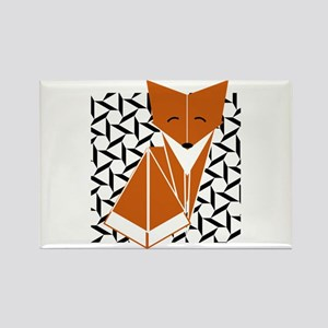 Origami Fox Magnets