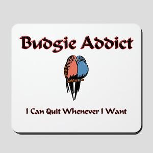 Budgie Addict Mousepad