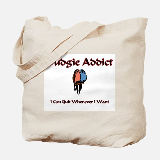 Budgie Addict Tote Bag