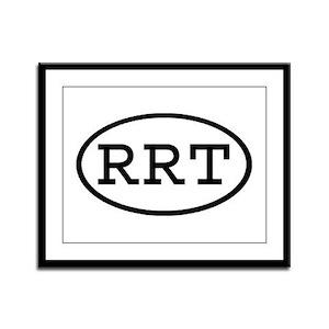 RRT Oval Framed Panel Print