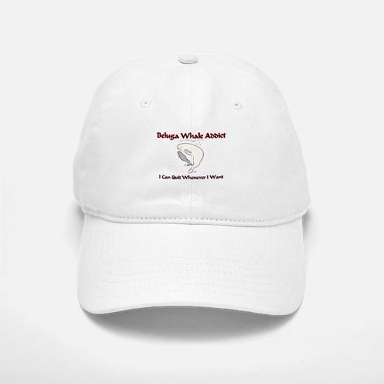 Beluga Whale Addict Baseball Baseball Cap