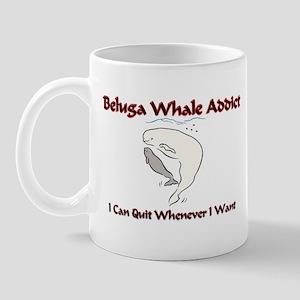Beluga Whale Addict Mug