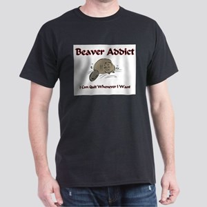 Beaver Addict Dark T-Shirt