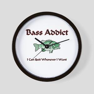 Bass Addict Wall Clock