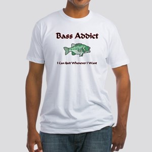Bass Addict Fitted T-Shirt