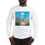 SCUBA Diver and Moray Eel Long Sleeve T-Shirt