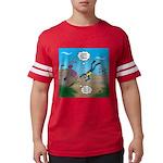 SCUBA Diver and Moray Eel Mens Football Shirt