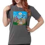 SCUBA Diver and Moray Womens Comfort Colors Shirt