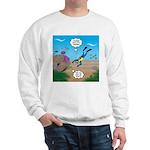 SCUBA Diver and Moray Eel Sweatshirt