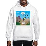 SCUBA Diver and Moray Eel Hooded Sweatshirt