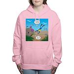 SCUBA Diver and Moray Ee Women's Hooded Sweatshirt