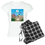 SCUBA Diver and Moray Eel Women's Light Pajamas