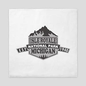 Isle Royale - Michigan Queen Duvet