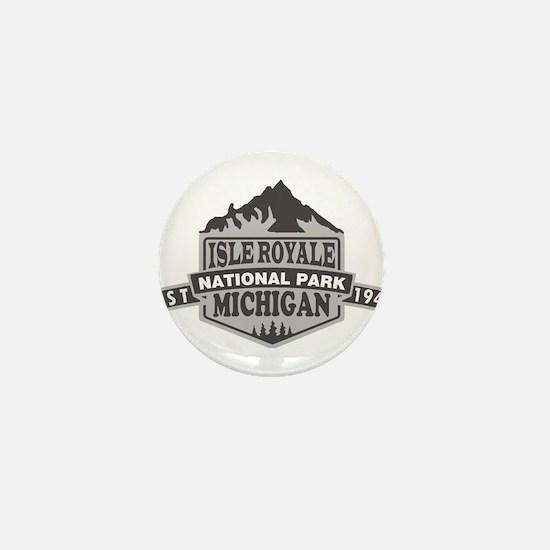 Isle Royale - Michigan Mini Button