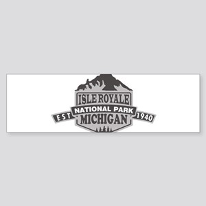 Isle Royale - Michigan Bumper Sticker