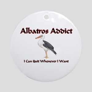 Albatros Addict Ornament (Round)
