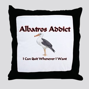 Albatros Addict Throw Pillow