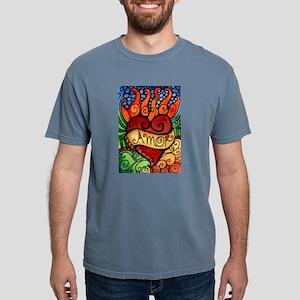Amor Flaming Milagro Hear T-Shirt