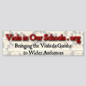 Viols in Our Schools Bumper Stickers