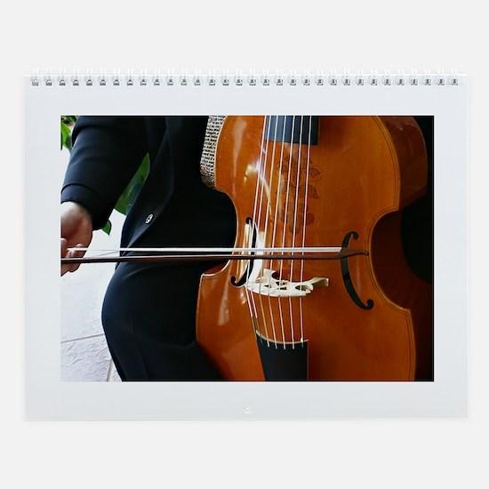 Viols in Our Schools Viola da Gamba Wall Calendar