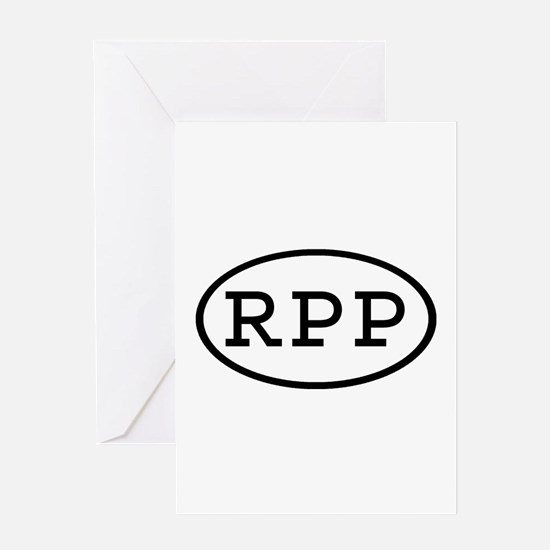 RPP Oval Greeting Card