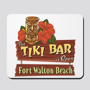 Ft. Walton Beach Tiki Bar - Mousepad