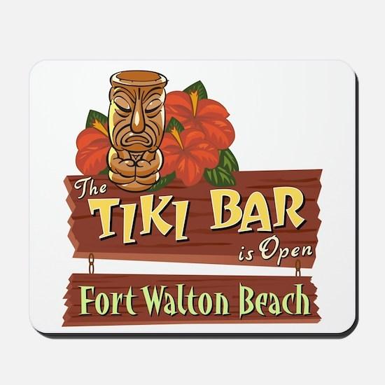 Ft. Walton Beach Tiki Bar - Mousepad