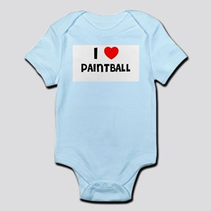 I LOVE PAINTBALL Infant Creeper