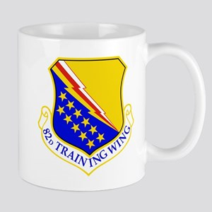 USAF Air Force 82nd Training Wing Shield Deca Mugs