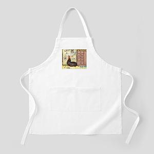 Weighty Weiner Dog BBQ Apron