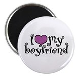 I Love My Boyfriend Magnet